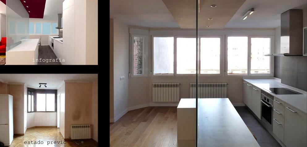 Un falso techo ayudar a zonificar y mejorar la iluminación.