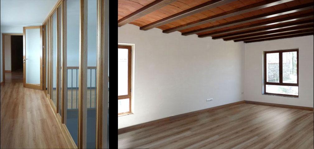 La luz natural llega a todos los rincones de la casa distribuida en espacios amplios.