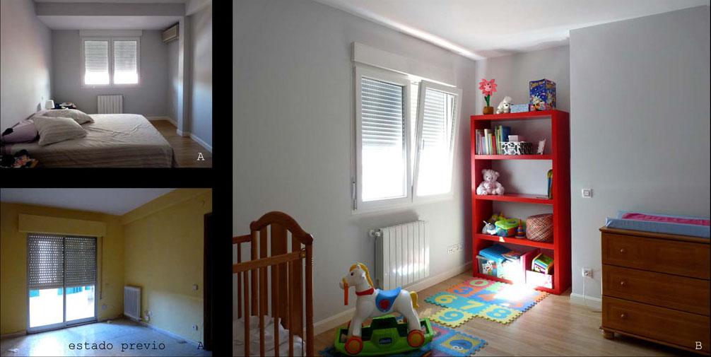 Los dormitorios de los niños se ubicaron en la zona más soleada para conseguir buenas zonas de juego.