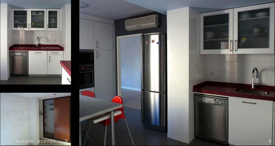 Fundamental el espacio para almacenaje y una zona de comedor.